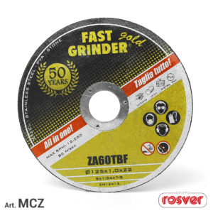 Cutting discs - MCZ industrial line