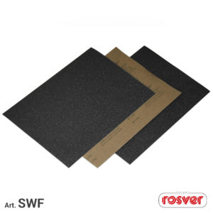 Feuilles de papier au latex imperméables