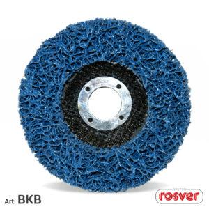 Blue Cleaner discs on Fiber