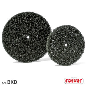 Black Cleaner Discs with hole
