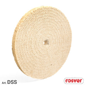 Quilted Discs in Sisal