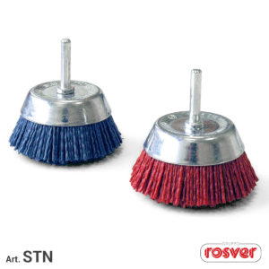 Nylon Cup Brushes with Stem