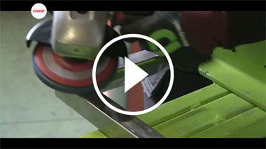 Cómo eliminar juntas de soldadura con CWA Inox Cool