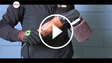 Cómo acabar el acero inoxidable sin rastros de disparo.
