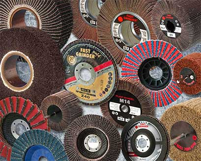 Wheels and flap discs