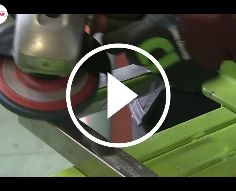 Abrasive nonwovens CWA-INOX-COOL-2