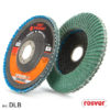Curved flap discs