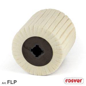 100 × 100 Felt Flap Wheels